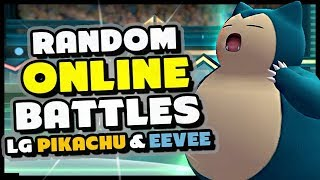 How To Battle and Trade Random People Online - Pokemon Let's Go Pikachu and Eevee