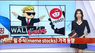 주요 밈 주식(meme stocks) 가격 동향 / THE PULSE