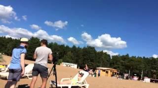 Видео со съемок клипа Алисы Кожикиной - Я лежу на пляже