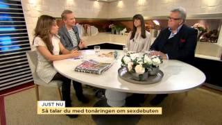 Så pratar du med din tonåring om sex - Nyhetsmorgon (TV4)