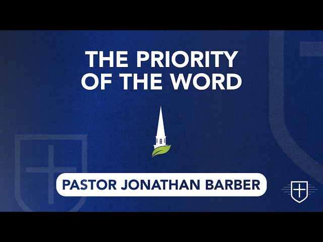 The Priority of the Word