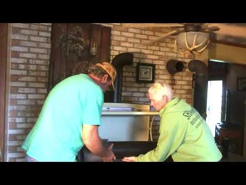 Installing Our Wood Cook Stove