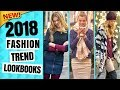 2018 TOP LOOKBOOKS FASHION | WINTER & SPRING FASHION TREND