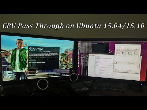 GPU pass through guide for Ubuntu