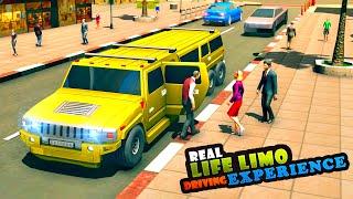 Big City Limo Car Driving Taxi Games - Driving Car Limo Simulators - Android Gameplay screenshot 2