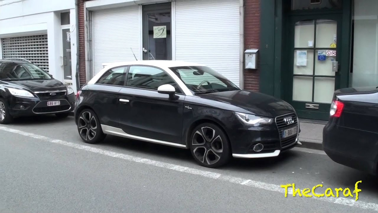 2 of 25 audi a1 black white edition 1st a1 limited edition youtube. Black Bedroom Furniture Sets. Home Design Ideas