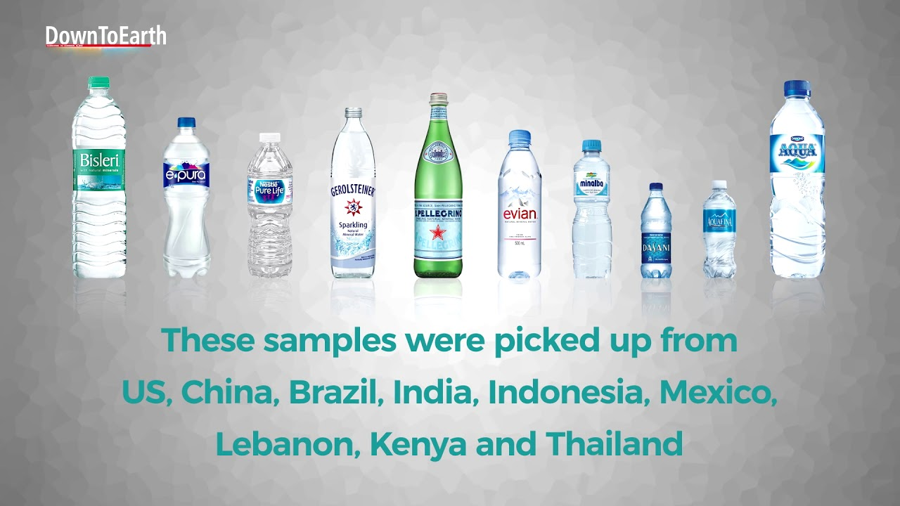 Microplastics in your bottled water?