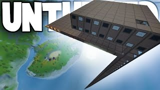 Unturned RUSSIA MAP Vanilla PvP Server: MASSIVE SKYBASE! Deadzone Oil Rig Loot Run