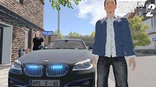 Autobahn Police Simulator 2 - Unmarked BMW Responding! Gameplay 4K