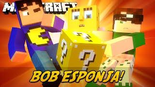 Minecraft: LUCKY BLOCK BOB ESPONJA! (Lucky Block Mod)