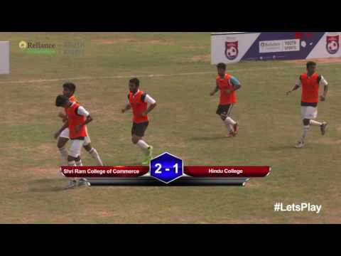 RFYS: Delhi College Boys - Shree Ram College of Commerce vs Hindu College Highlights