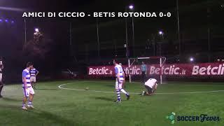 SOCCER LEAGUE C5 - SEMIFINALE - Amici di Ciccio vs Betis Rotonda