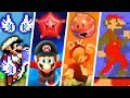 Evolution of Secret Super Mario Power-Ups (1988 - 2018)