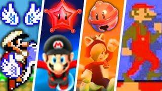 Evolution of Secret Super Mario Power-Ups (1988 - 2018)
