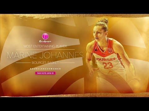 Marine Johannes | Bourges Basket - Regular Season Highlights