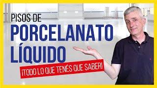 Pisos de PORCELANATO LÍQUIDO | Guía COMPLETA sobre Pisos Epoxi!!