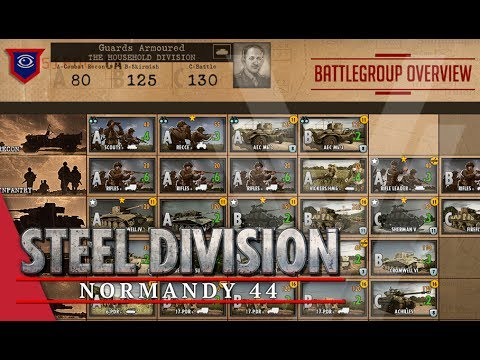 Guards Armoured (The Household Division) - Steel Division: Normandy 44 Battlegroup Overview #12
