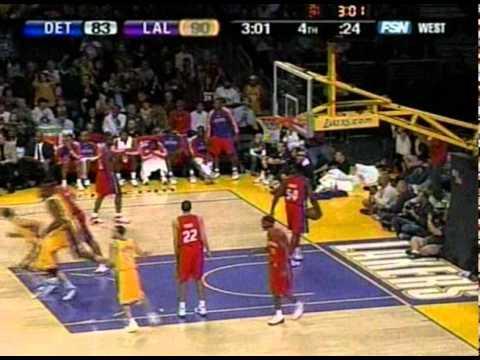 11 16 2007   Pistons vs  Lakers   LO To Ron Garretson To Vladrad