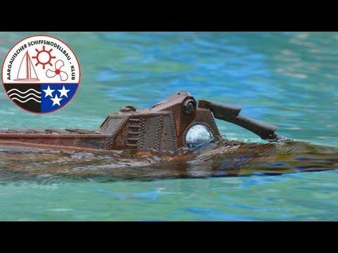 RC Boat - Nautilus Diving - Submarine