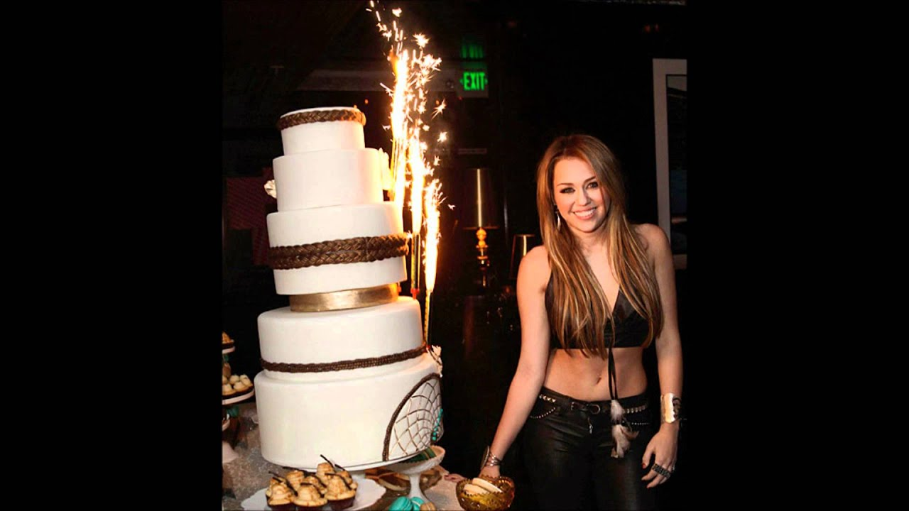 Miley Cyrus S 18 Birthday Party Pictures Hd Youtube