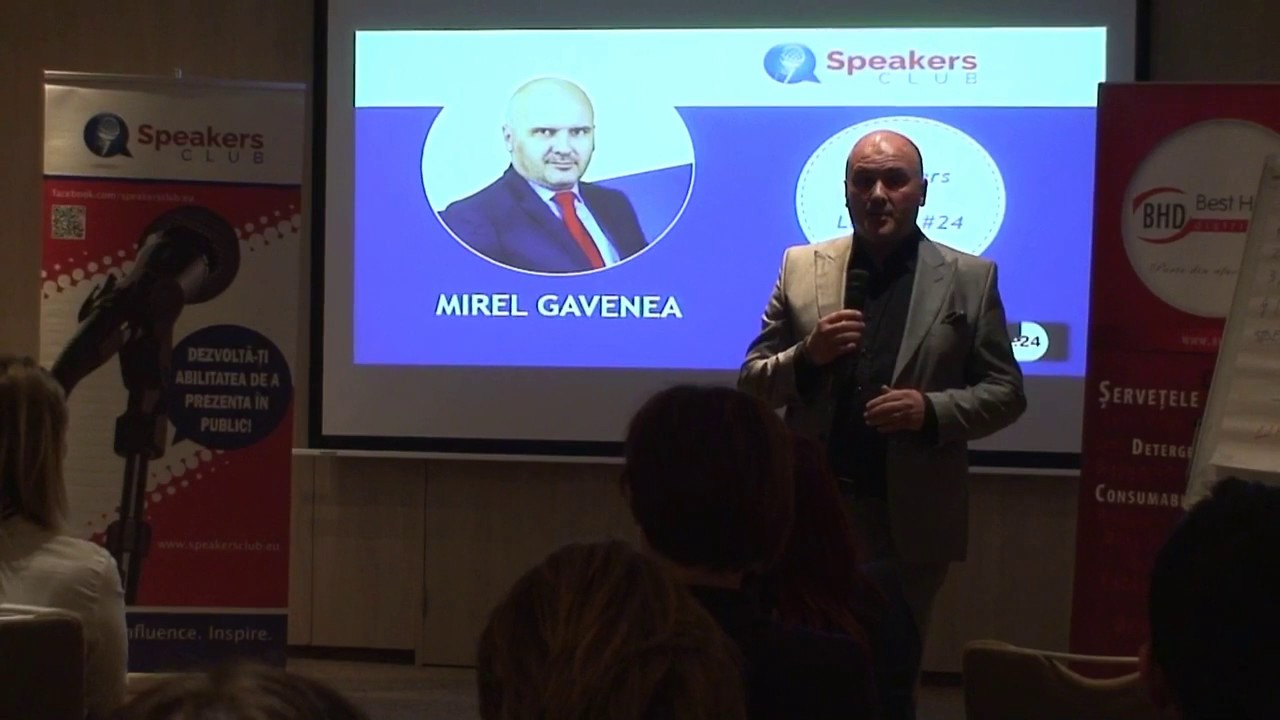 Editia #24 |Speakers Club Brasov | Mirel Gavenea | Masina electrica – intre mit si realitate