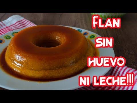 FLAN VEGANO SIN HUEVOS NI LECHE | MATIAS CHAVERO