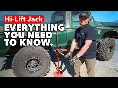 Everything You Need To Know About Using A Hi-Lift   Harry Situations
