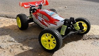 BSD Racing Buggy 1/8 - Acceleration Test Brushless