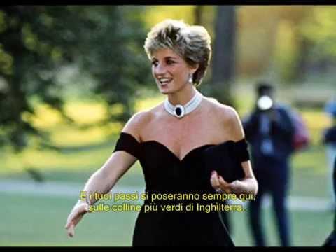 Elton john- Candle in the wind by Princess Diana Sottotitolato in italiano.
