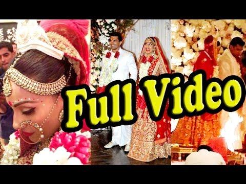 UNCUT: Full HD Video - Wedding Recception Coverage Bipasha Basu & Karan Singh Grover