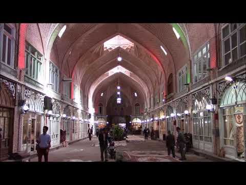 Blue Mosque and Bazaar of Tabriz (Amir &  Mozzafarieh Timcheh), Tabriz, Iran
