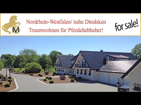 sold germany nordrhein westfalen dinslaken villa mit pferdestall gest t zu verkaufen youtube. Black Bedroom Furniture Sets. Home Design Ideas