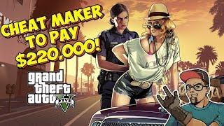 GTA V Elusive Cheat Creator Sued & Loses $220,000 For Copyright Infringement!