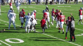 Alabama All Star`s Driving The Ball Deep Into Team Mississippi Territory At The All Star Game