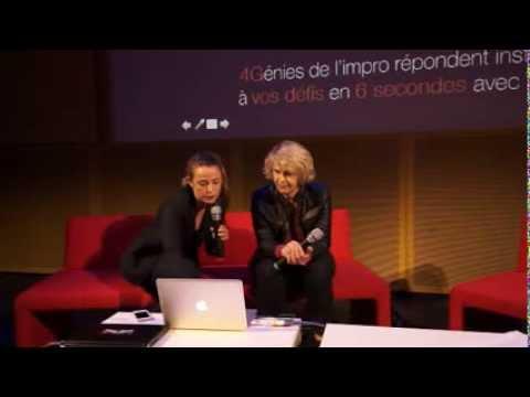 Orange sur les reseaux sociaux: Estelle Chauvey, Digital Manager et Agathe Wautier, digital ORANGE
