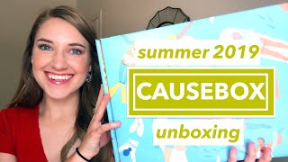 SUMMER CAUSEBOX UNBOXING 2019   This or That