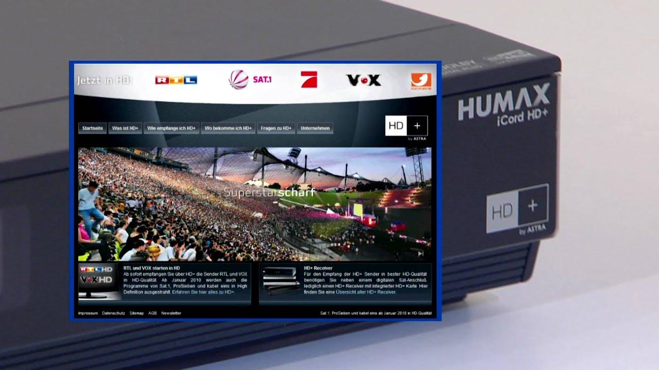 Hd Karte Knacken.Humax Erklärt Den Hd Standard Offizieller Humax Film