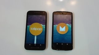 Android 6.0 vs Android 5.1.1