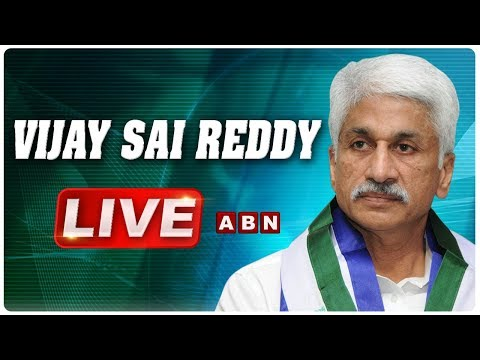 VIjay Sai Reddy LIVE | YCP Press Meet | ABN LIVE