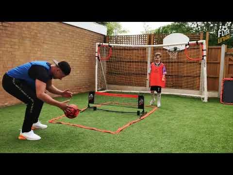 The NEW #FootballFlick Urban Mini Soccer Tennis! 🎾