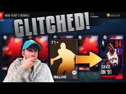 OPENING 500 INSANE GOLD EXCHANGE PACKS IN NBA LIVE MOBILE!!