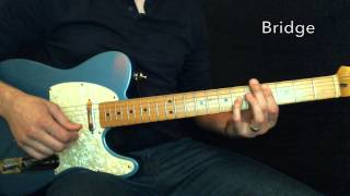 Heaven and Earth Hillsong Lead Guitar Tutorial