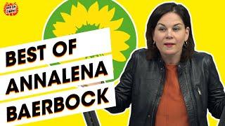 Robert habeck, der grüne alleinherrscher? von wegen: co-chefin annalena baerbock hat genausoviel feuer und bietet männerwelt im parlament die stirn. ob g...