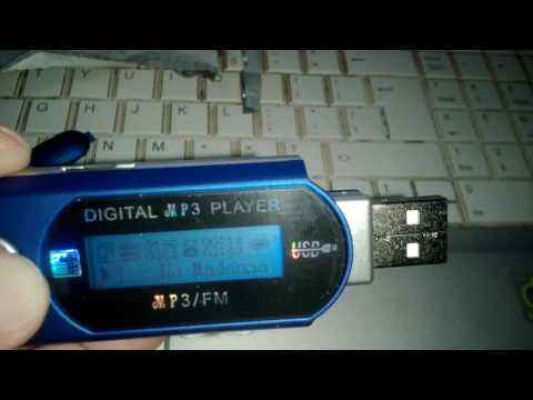 Portable USB Digital MP3 Player LCD 32Gb Fm radio