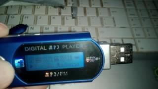 Portable USB Digital MP3 Player LCD 32Gb Fm radio