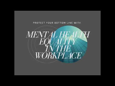 Join the Mental Health Equality in the Workplace