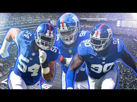 """New York Giants Highlights Defensive Line """"Wrong"""""""
