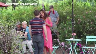 "Priyanka Chopra Wardrobe Malfunction With Adam Devine While Shooting ""Isn't it Romantic"" In NYC"