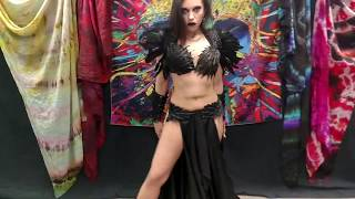 Diana Bastet Unboxing: Crow Costume - Stygian Sisters Metal Belly Dance
