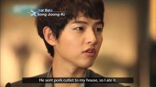 [Star Date] Interview with Actor 'Song Joongki' (송중기) thumbnail